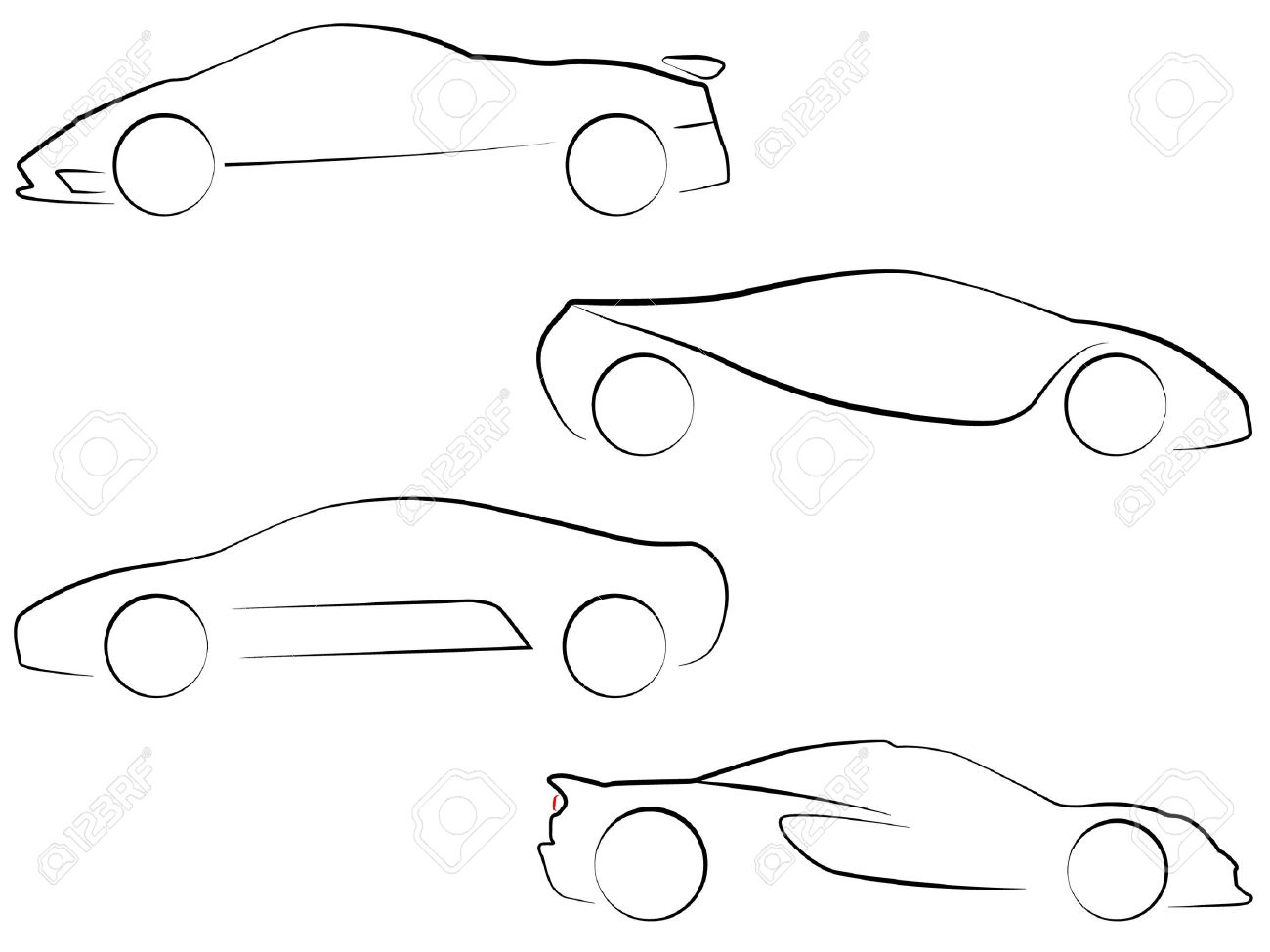 Super Car Stock Vector Illustration And Royalty Free Super