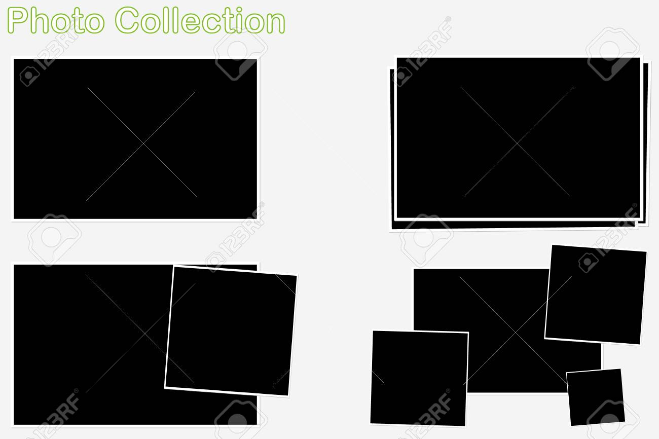 A collection of photo frame slides Stock Vector - 17286125