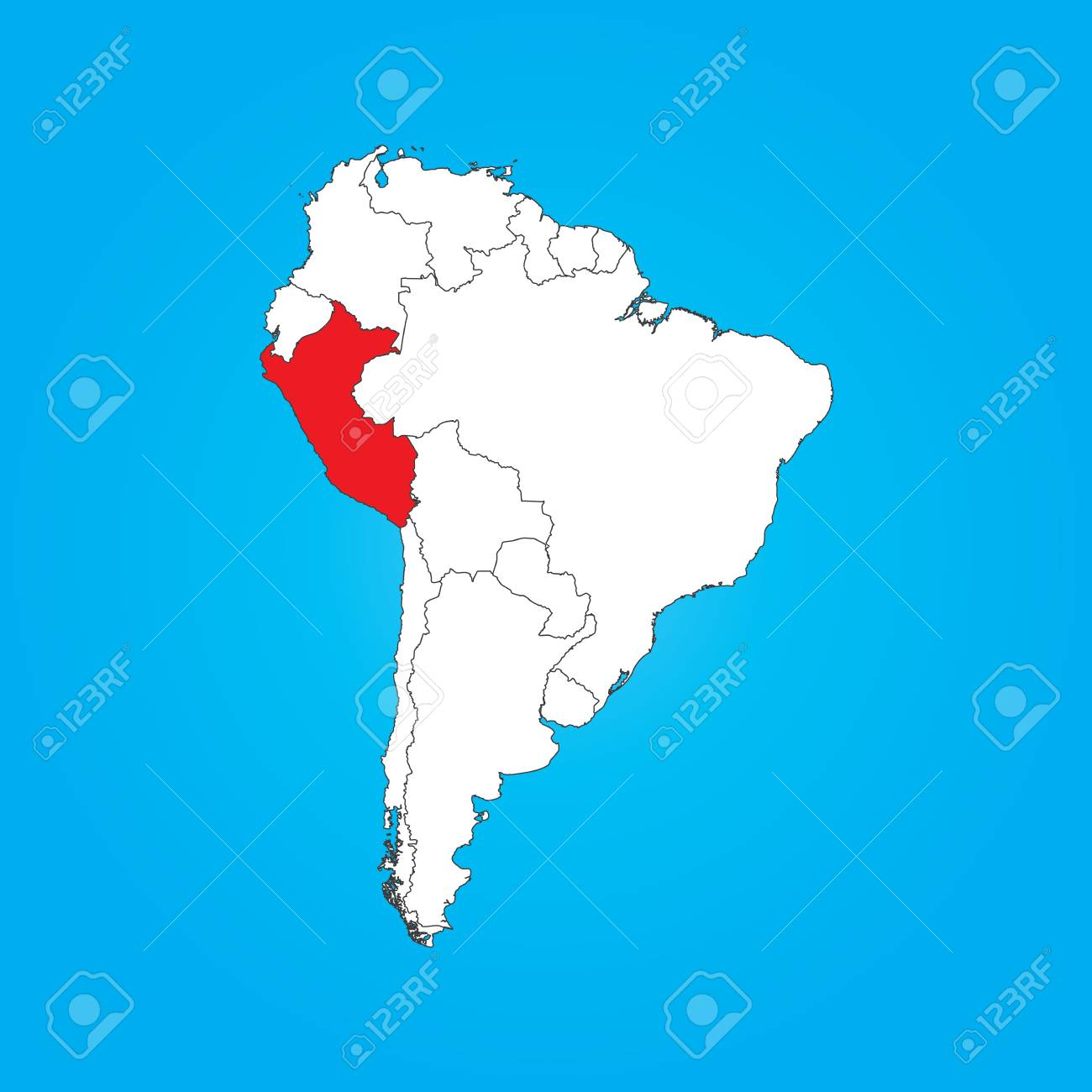 A Map of South America with a selected country of Peru Images Of Peru South America Map on map of mexico, maps in south america, colombia map in america, map of africa, costa rica, map of patagonia south america, map of amazon basin south america, puerto rico, map of south america with argentina, machu picchu, map of the galapagos islands south america, lima south america, top 10 poorest cities in america, machu picchu peru south america, close up map of south america, peru in south america, nicaragua on map of south america, map of santiago south america, map of atacama desert south america, information on peru south america, map of aruba and south america, map of trinidad and tobago south america, political map of south america,