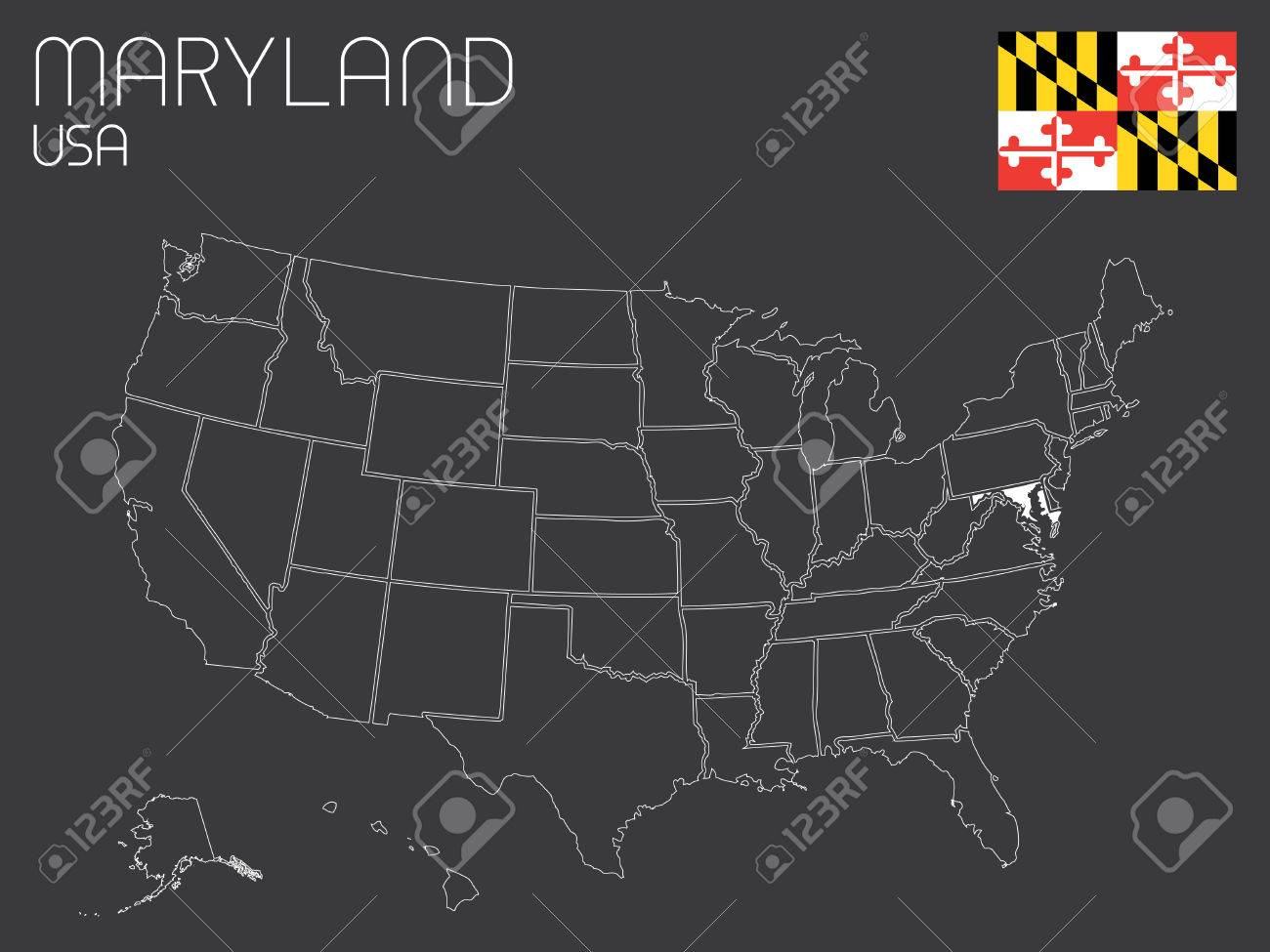 Maryland Map Fotolipcom Rich Image And Wallpaper Maryland MD - Us map maryland state