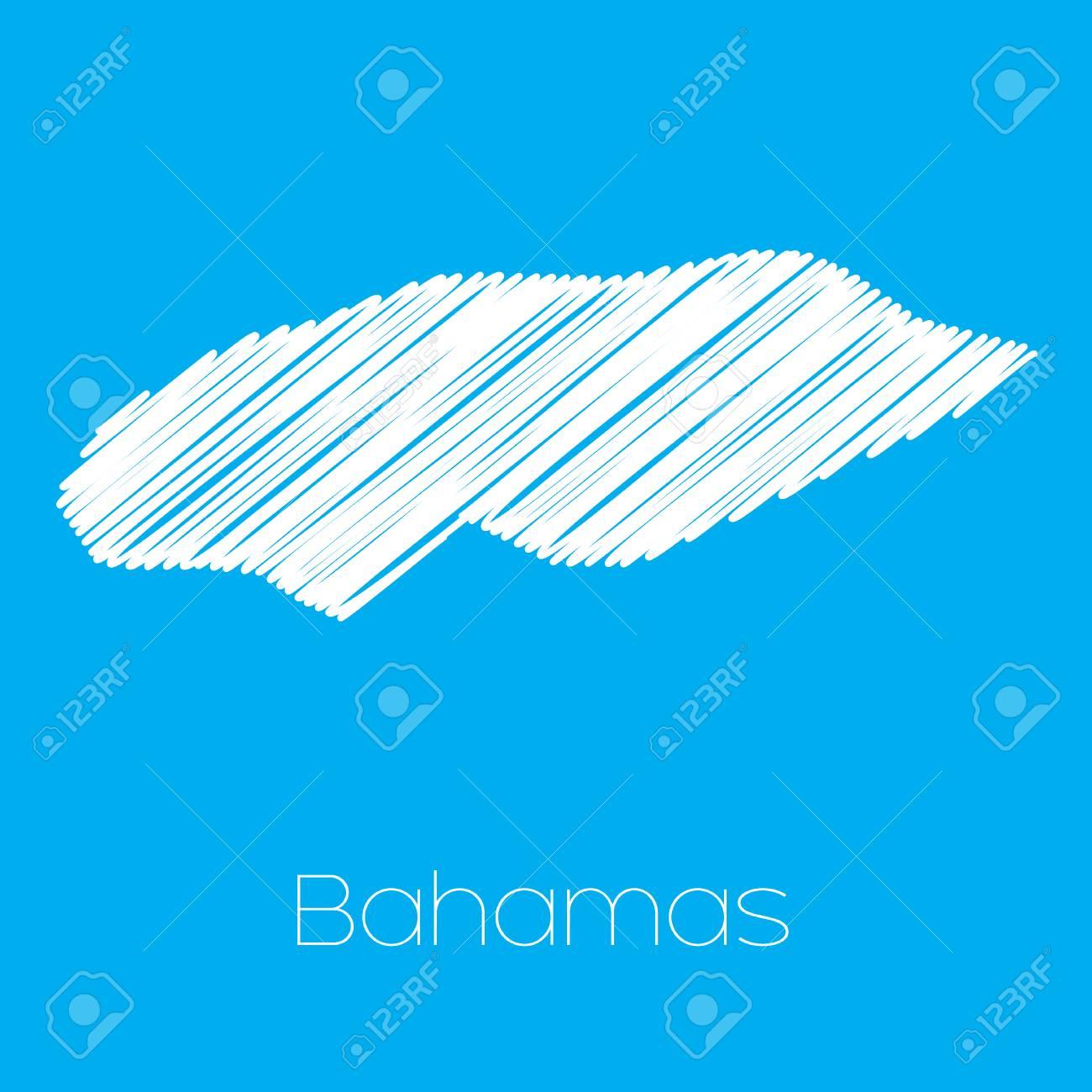 バハマ国の地図 ロイヤリティー...