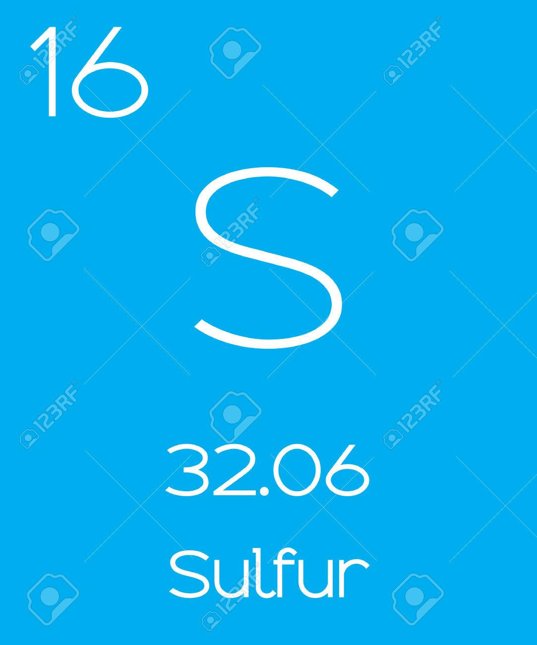 An informative illustration of the periodic element sulfur an informative illustration of the periodic element sulfur stock vector 45189152 buycottarizona Image collections