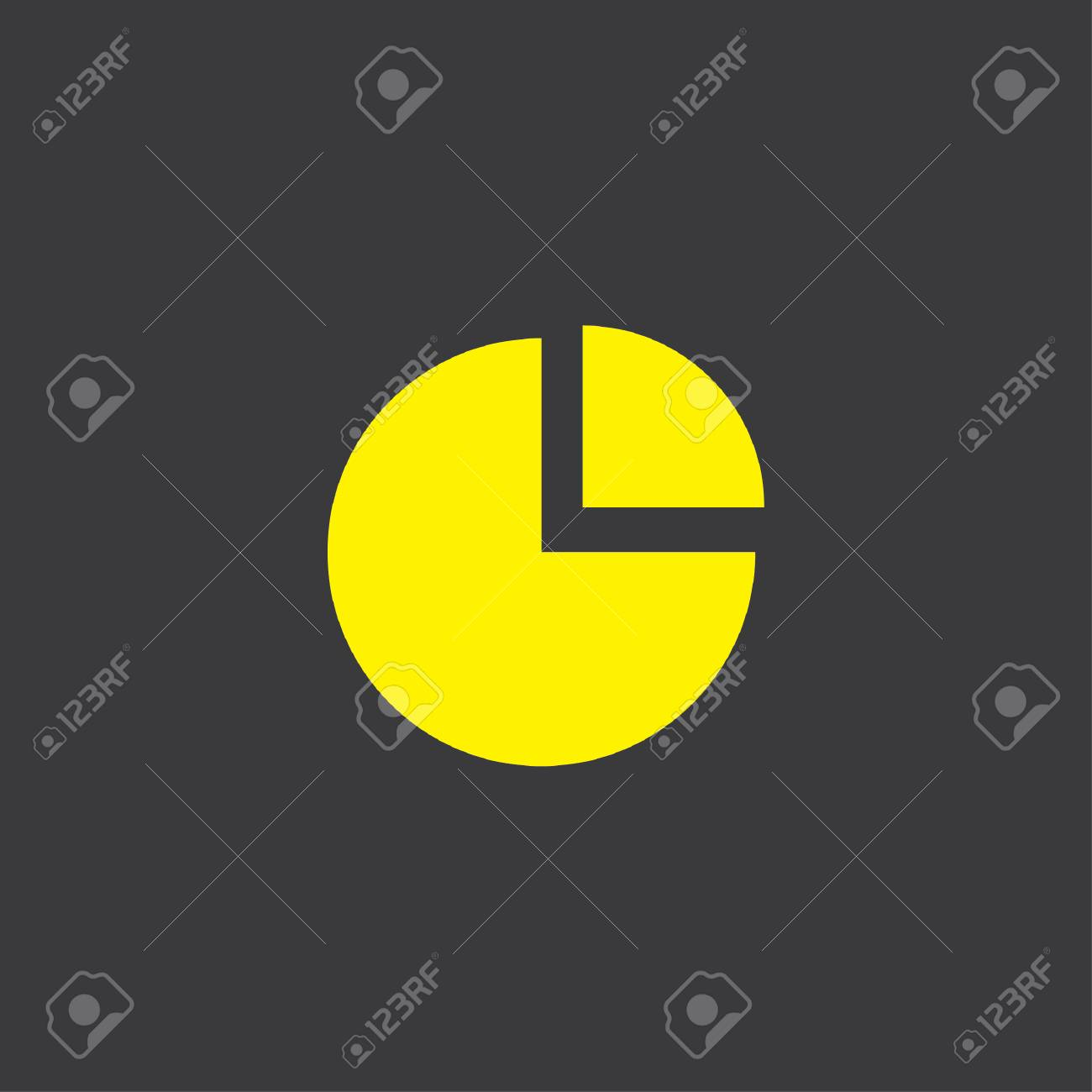 A yellow icon isolated on a grey background pie chart exploded a yellow icon isolated on a grey background pie chart exploded stock photo 45609521 nvjuhfo Image collections
