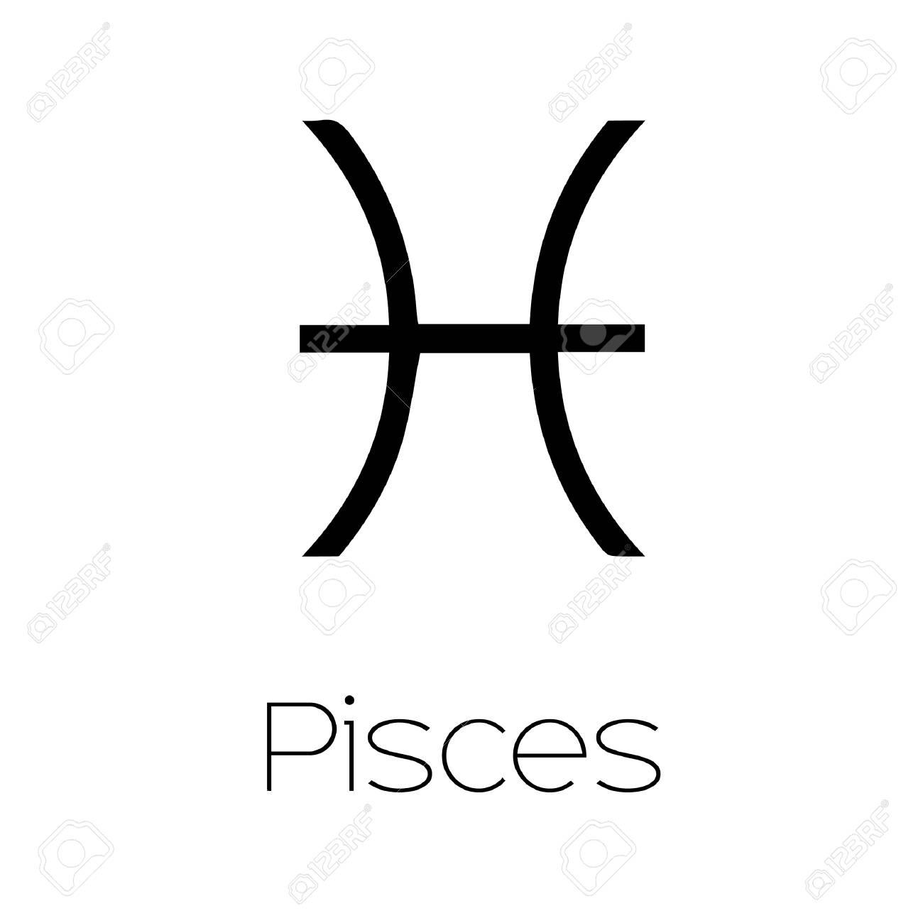 Illustrated Zodiac Symbol