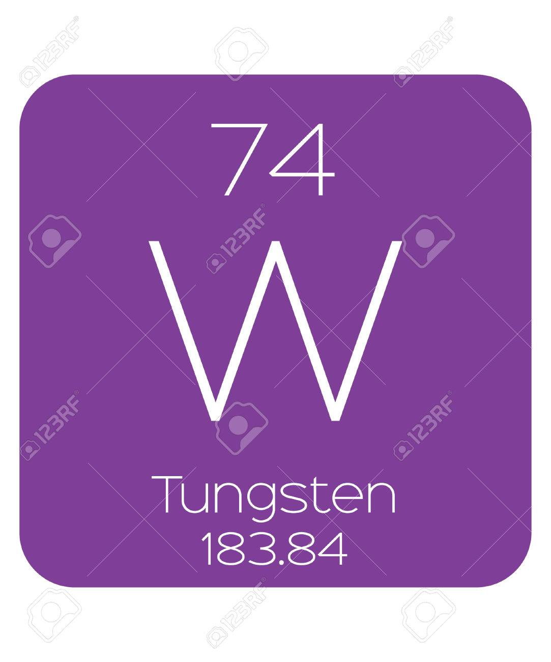 The periodic table of the elements tungsten stock photo picture and stock photo the periodic table of the elements tungsten urtaz Image collections