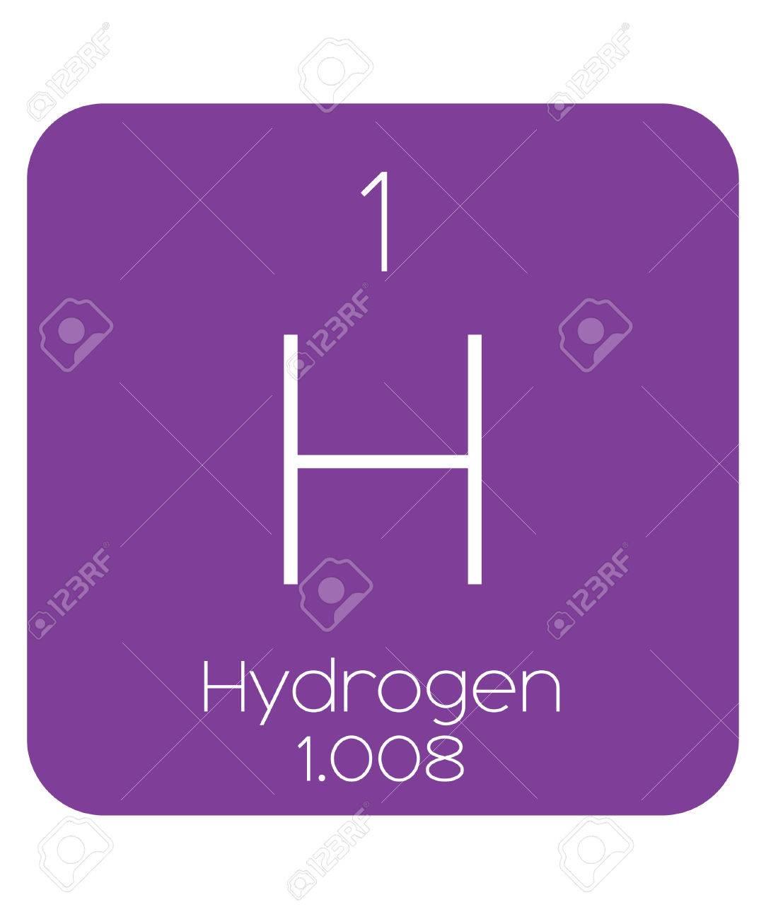 La tabla peridica de los elementos de hidrgeno fotos retratos foto de archivo la tabla peridica de los elementos de hidrgeno urtaz Images