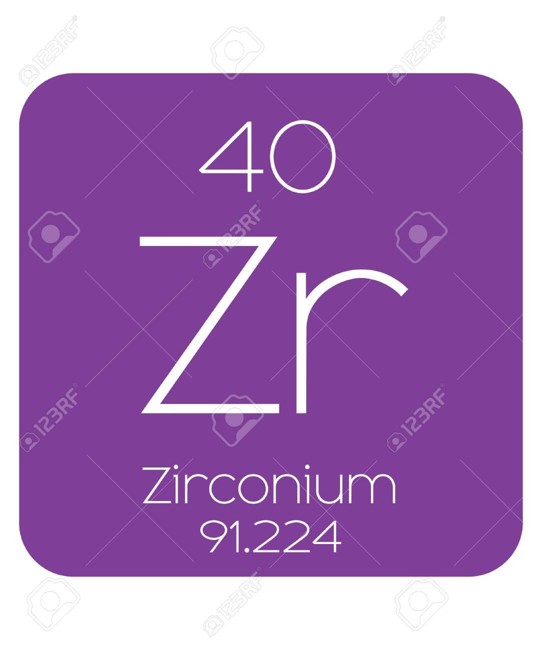 The periodic table of the elements zirconium stock photo picture stock photo the periodic table of the elements zirconium urtaz Images