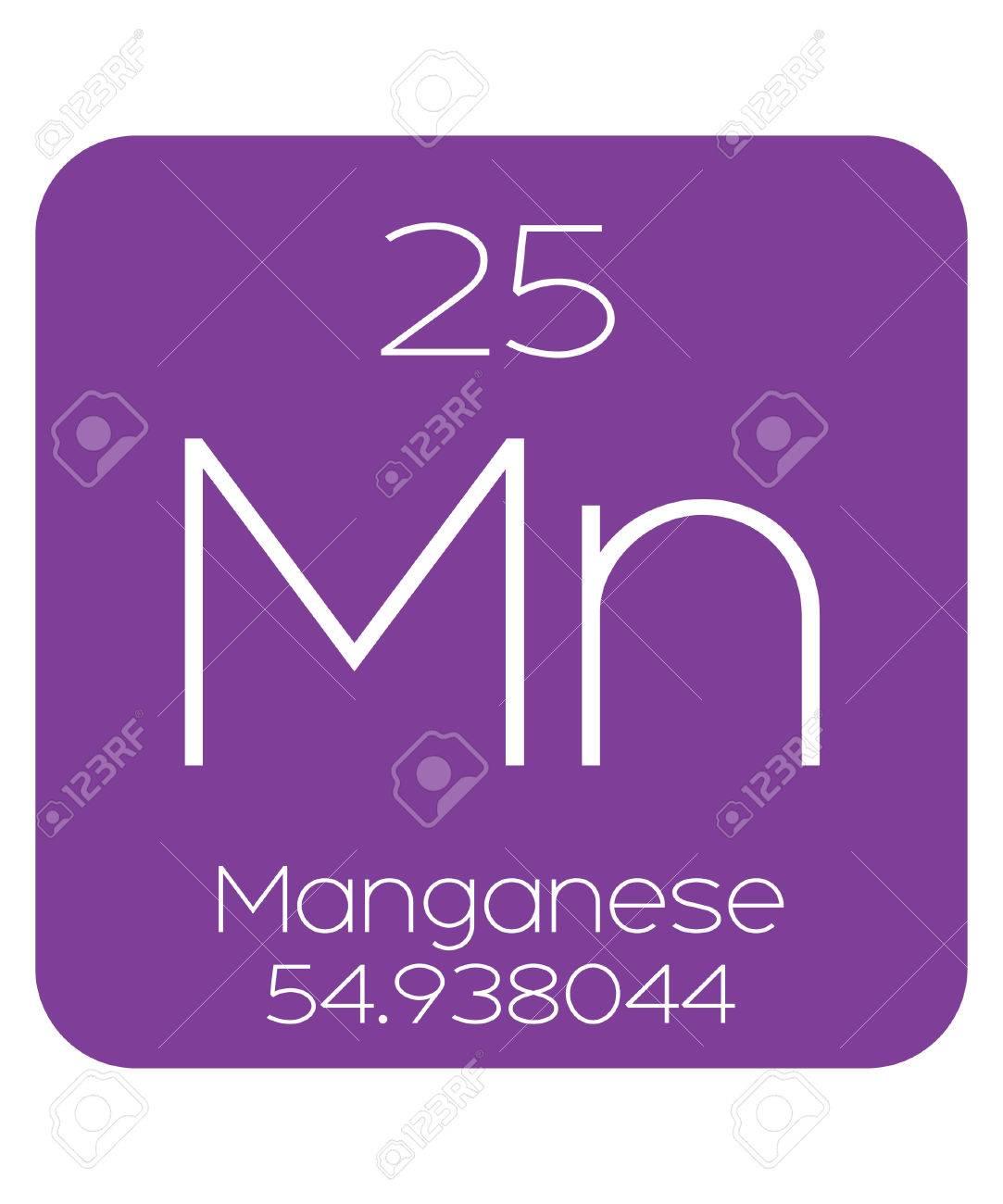 La tabla peridica de los elementos de manganeso fotos retratos foto de archivo la tabla peridica de los elementos de manganeso urtaz Image collections