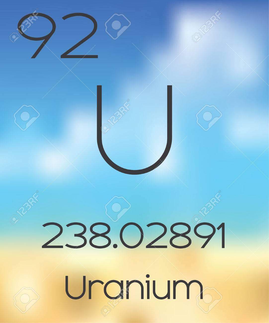 La tabla peridica de los elementos de uranio fotos retratos la tabla peridica de los elementos de uranio foto de archivo 47055643 urtaz Images