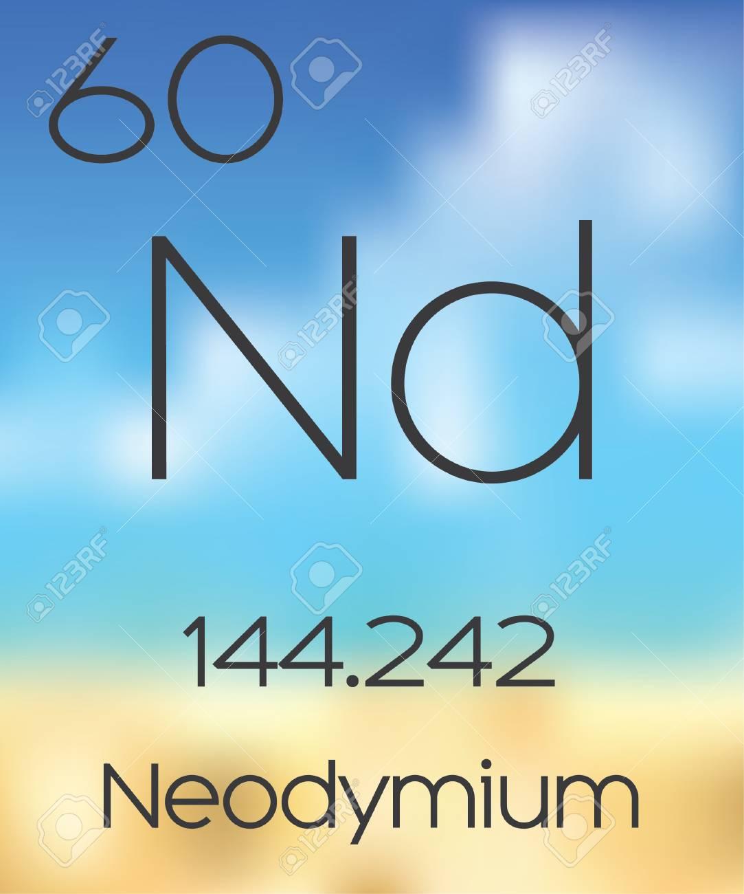 The periodic table of the elements neodymium stock photo picture the periodic table of the elements neodymium stock photo 47534300 gamestrikefo Choice Image