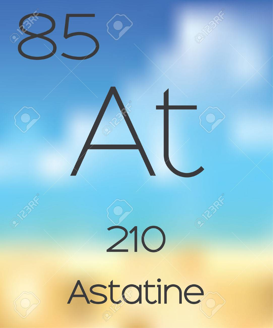 The periodic table of the elements astatine stock photo picture the periodic table of the elements astatine stock photo 47578648 gamestrikefo Image collections