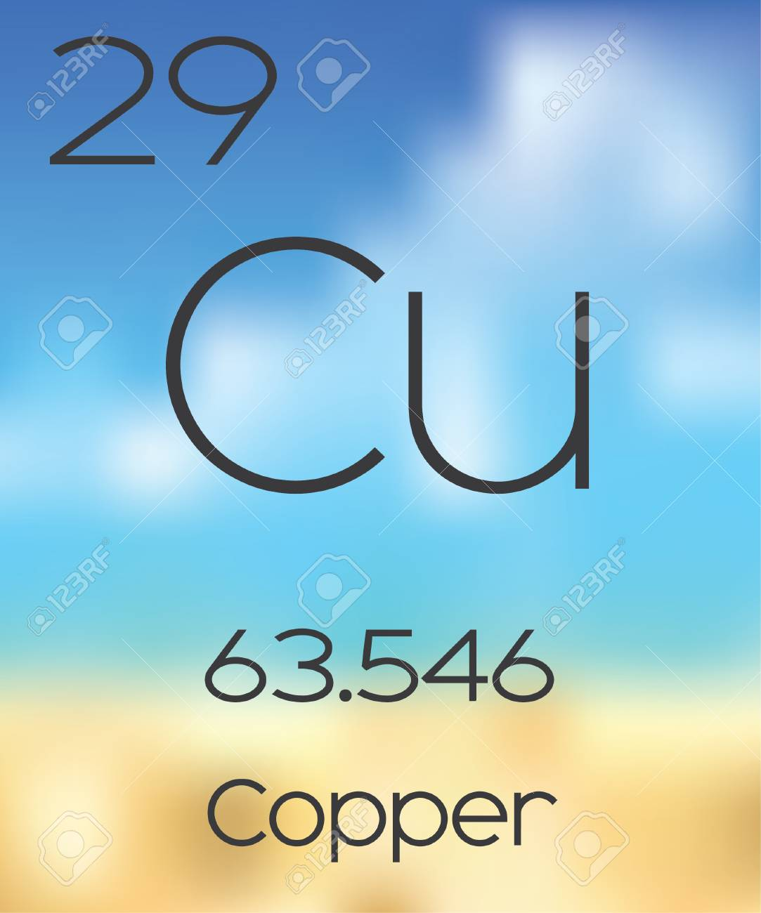 The periodic table of the elements copper stock photo picture and the periodic table of the elements copper stock photo 47584808 buycottarizona Image collections
