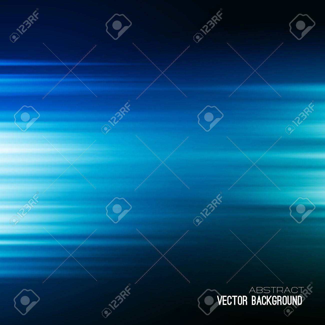 Blue Abstract vector backgrounds. Rays of light. - 41642308
