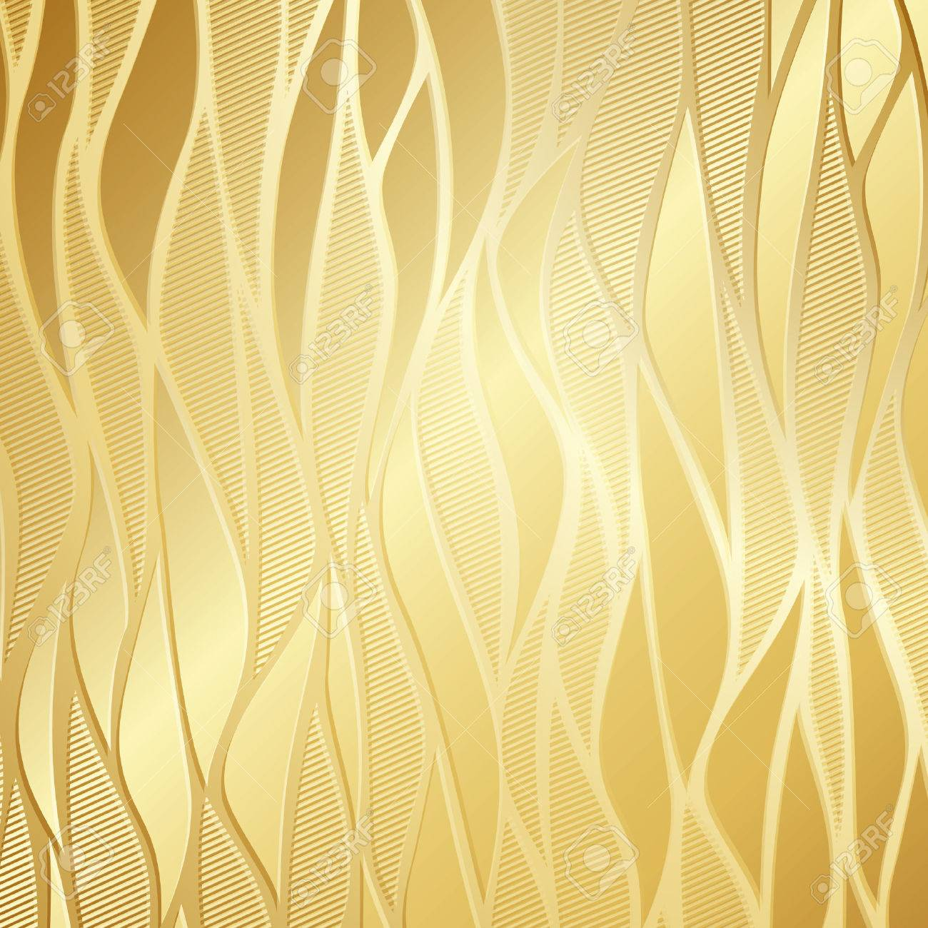 Luxury Golden Wallpaper Stock Vector