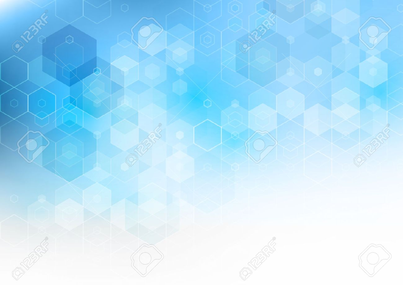 vector abstract science background hexagon geometric design