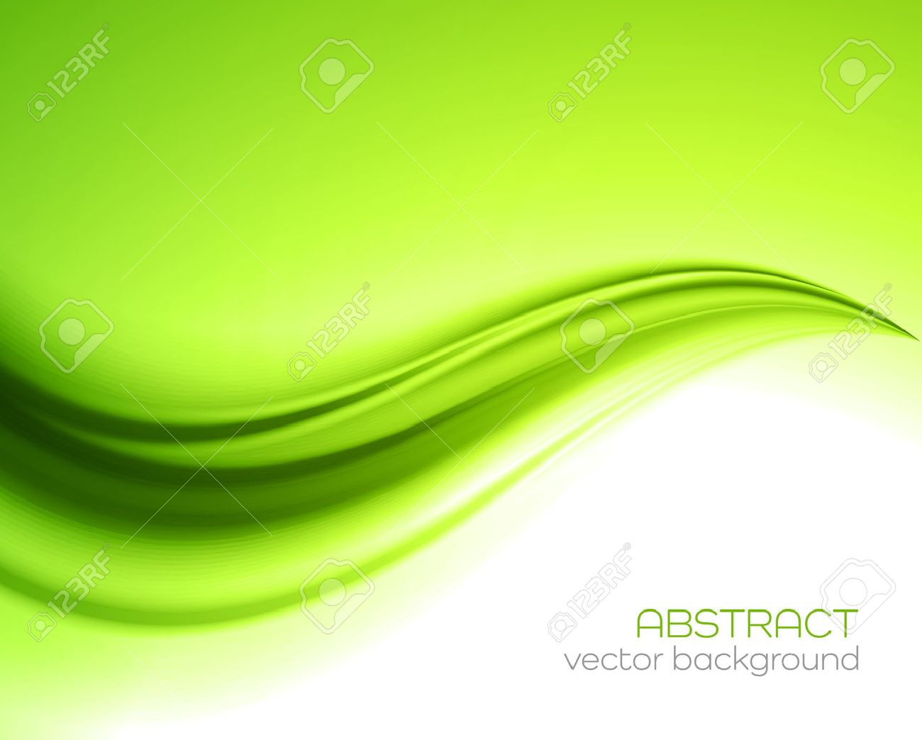 Beautiful Green Satin. Drapery Background, Vector Illustration Stock Vector - 46343828