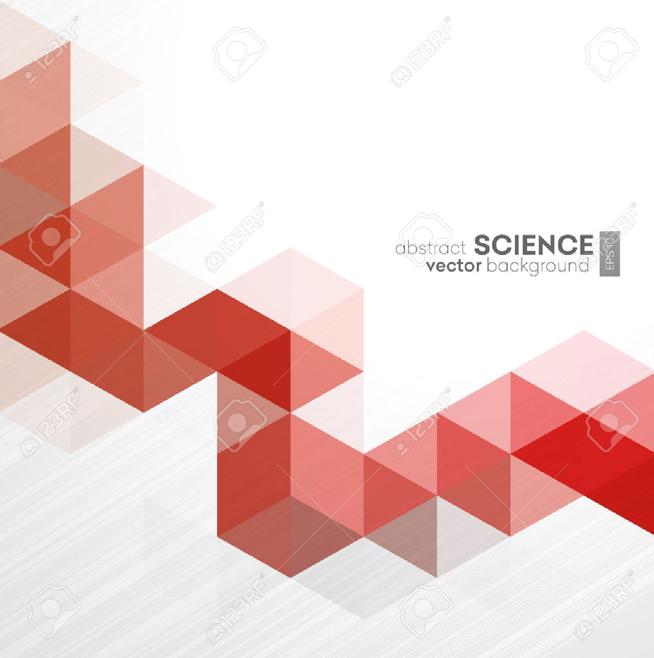 Vector Abstract geometric background with triangles - For business, corporate design, cover, booklet, brochure. - 50379283