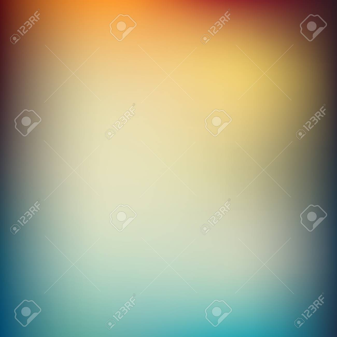 Vector illustration of soft colored abstract background. Summer light background - 54436525