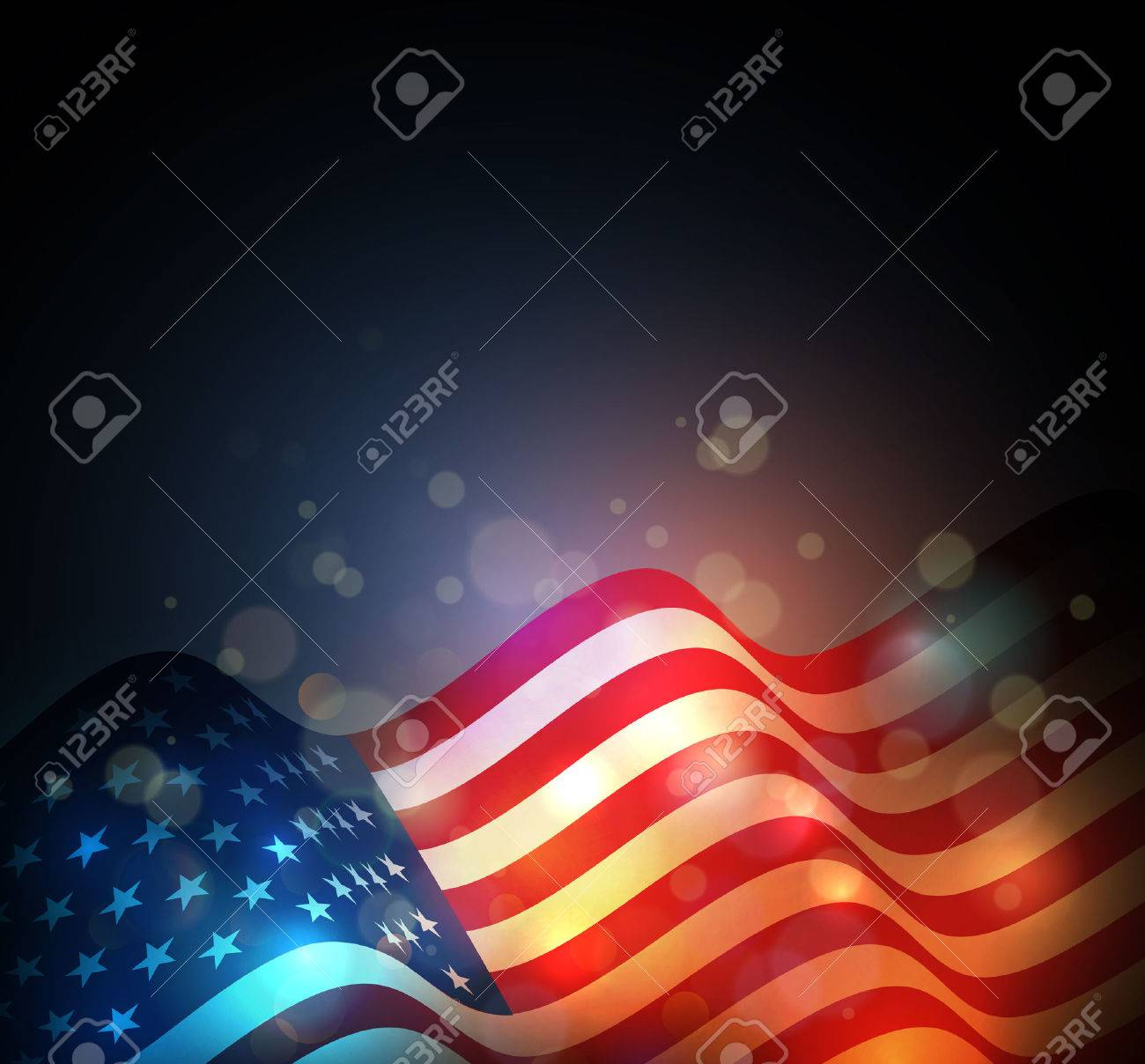 United States flag. USA Independence Day background. Fourth of July celebrate - 54493440