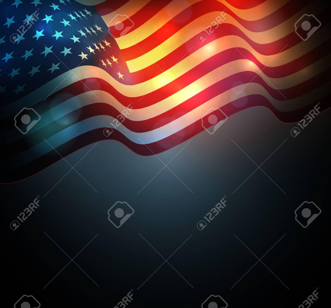 United States flag. USA Independence Day background. Fourth of July celebrate - 54493451