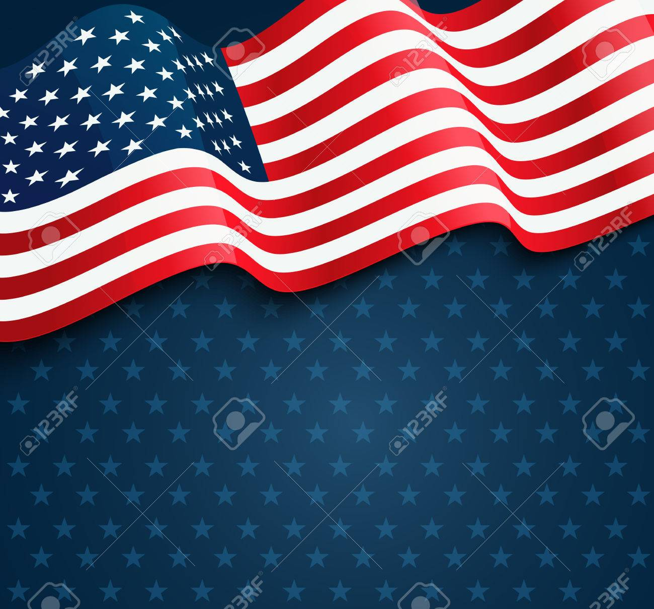 United States flag. USA Independence Day background. Fourth of July celebrate - 54493450