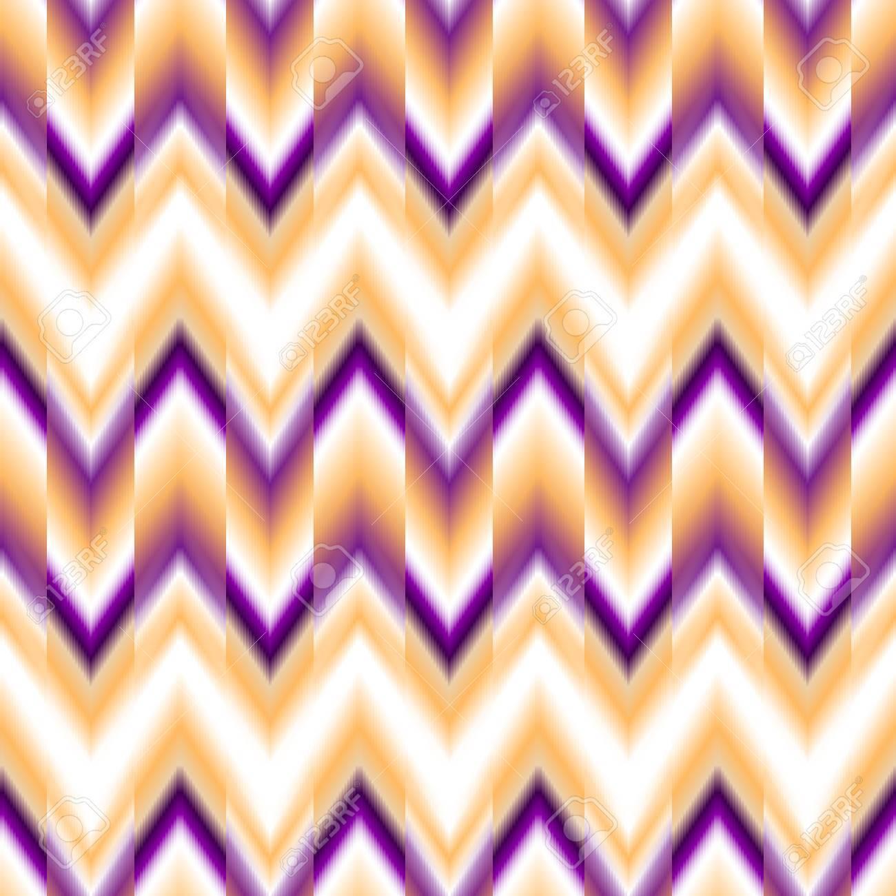 nahtlose ikat ethnische muster boho design ethnische farbige nahtlose zickzack patten standard - Boho Muster