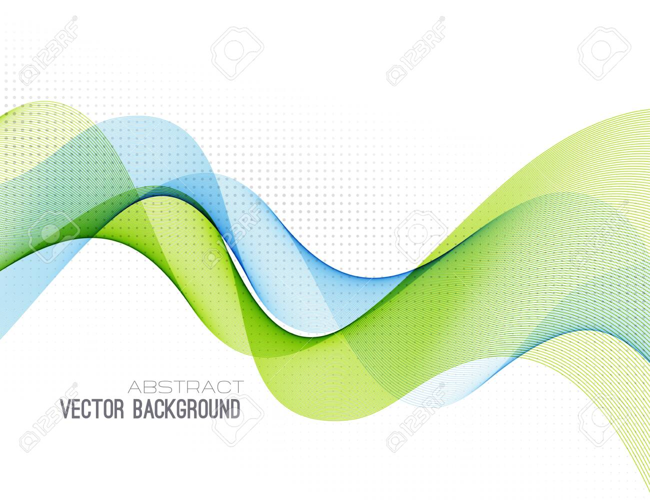 Abstract colorful vector background, color wave for design brochure, website, flyer. - 141122382
