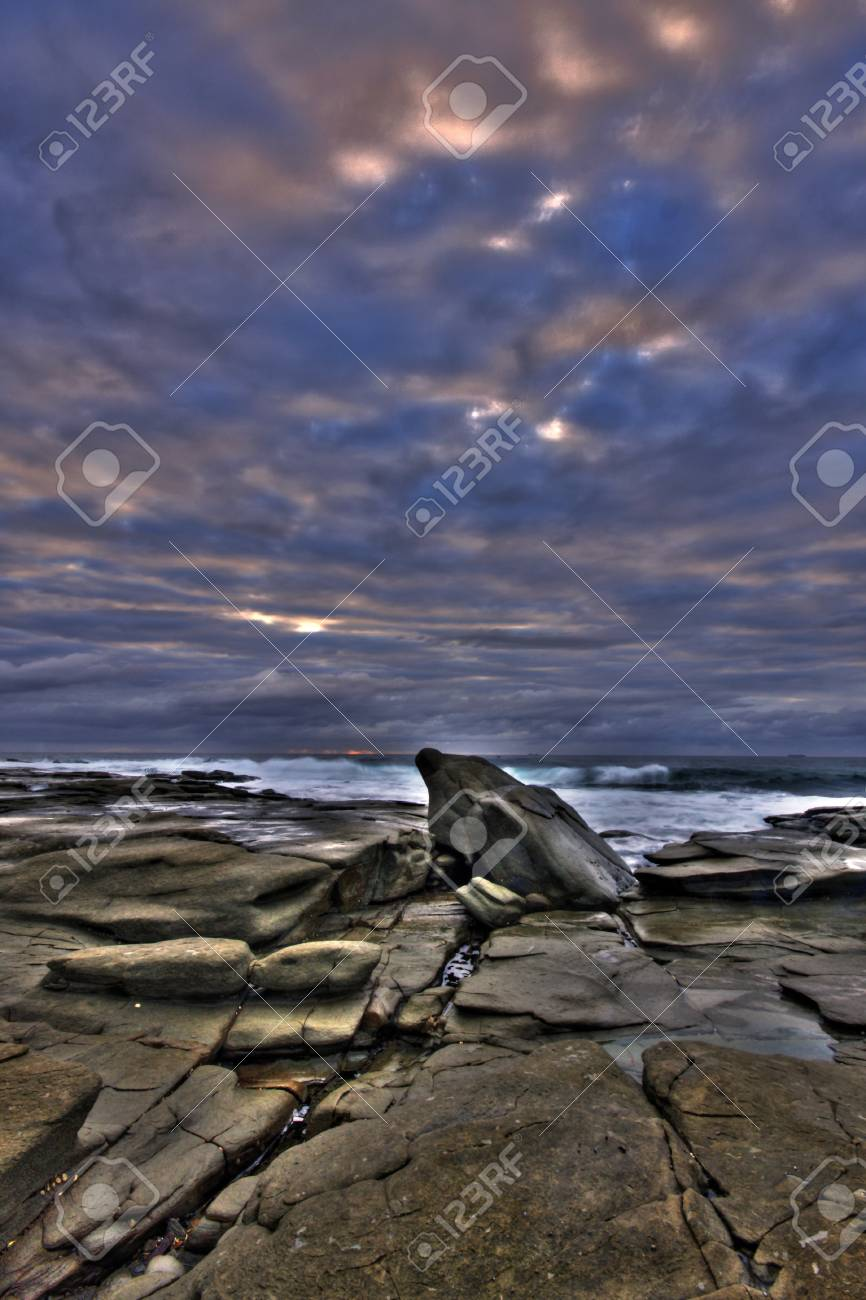 Point Cartwright Sunrise Stock Photo - 14085398