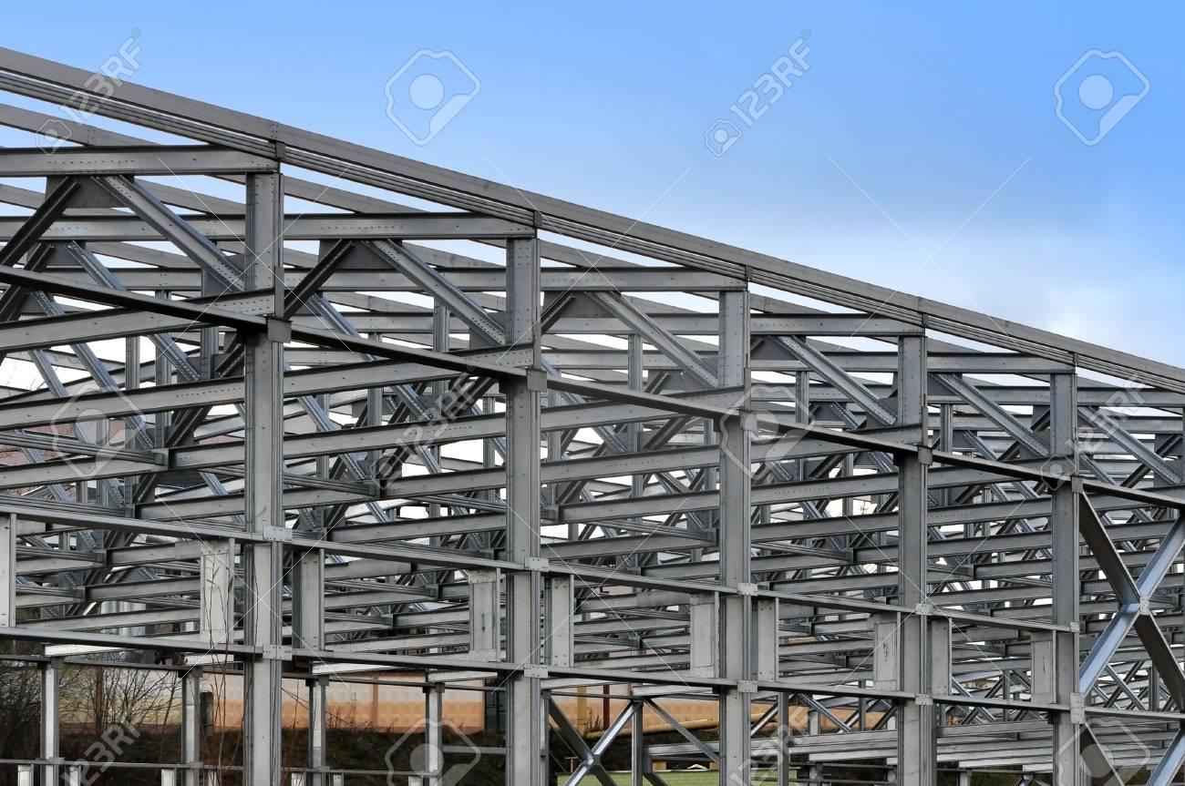 Warehouse steel building constructions