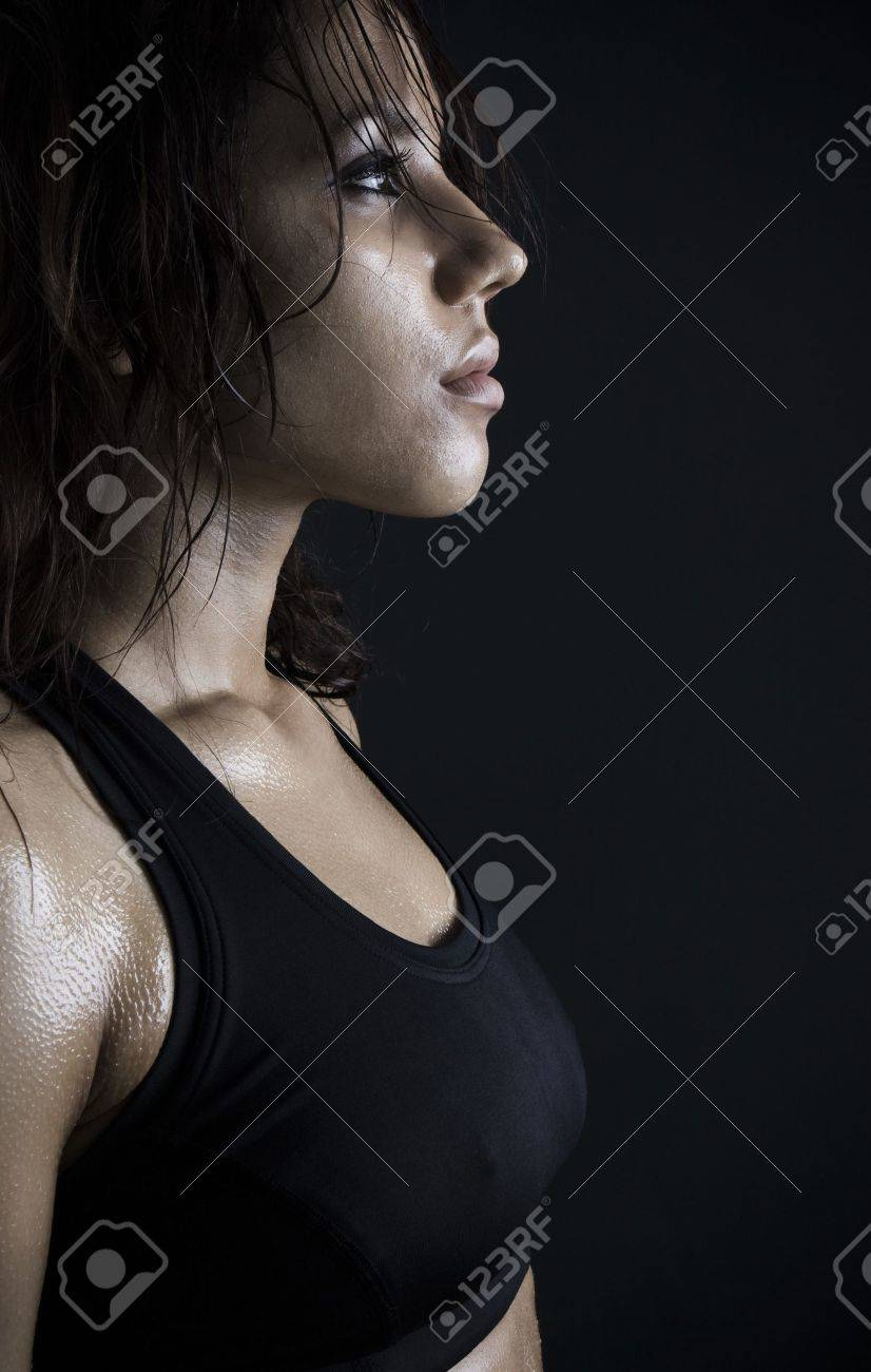 beautiful fitness body passion for exercising. Stock Photo - 5004300