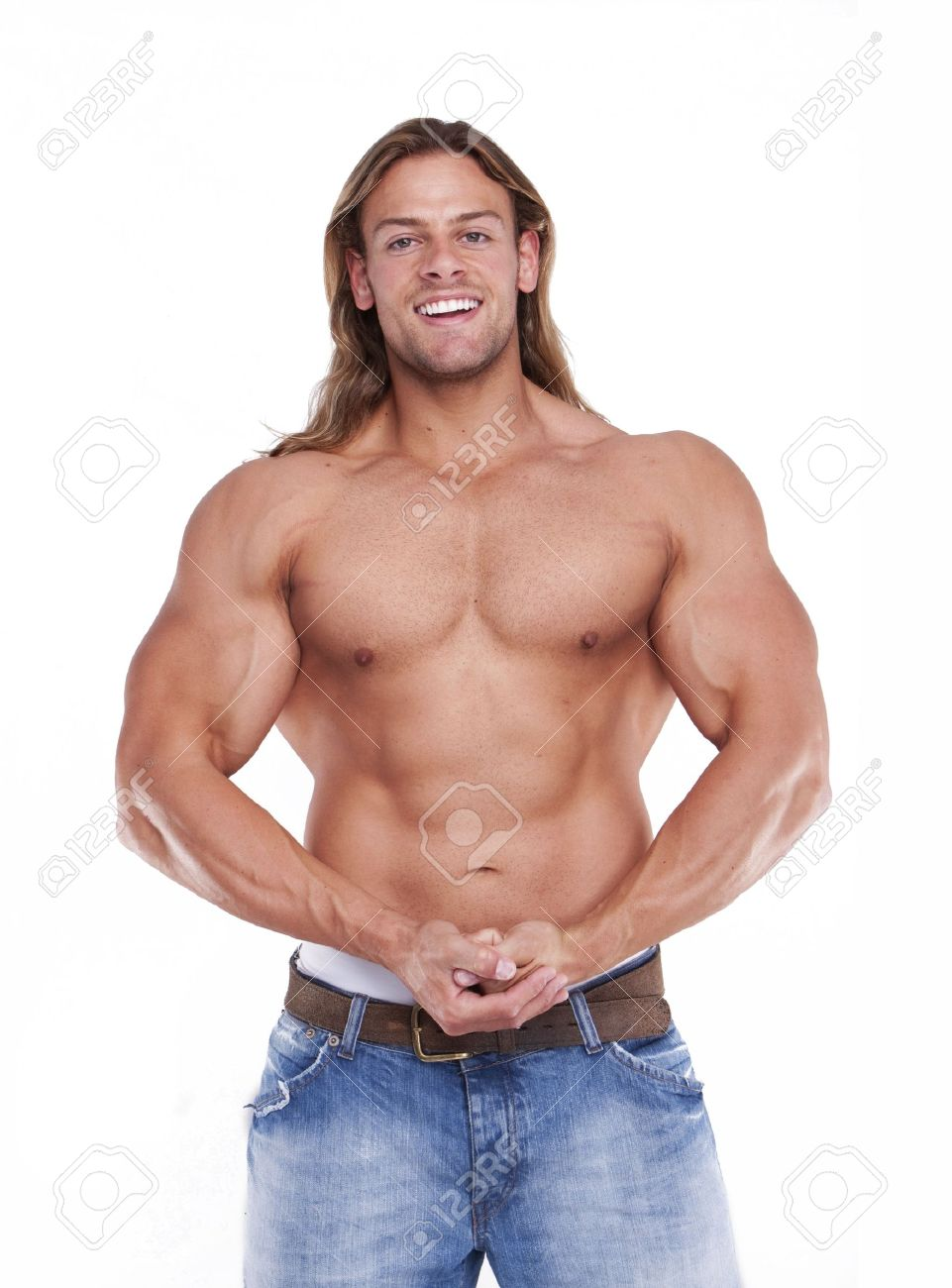 Hot male body photo