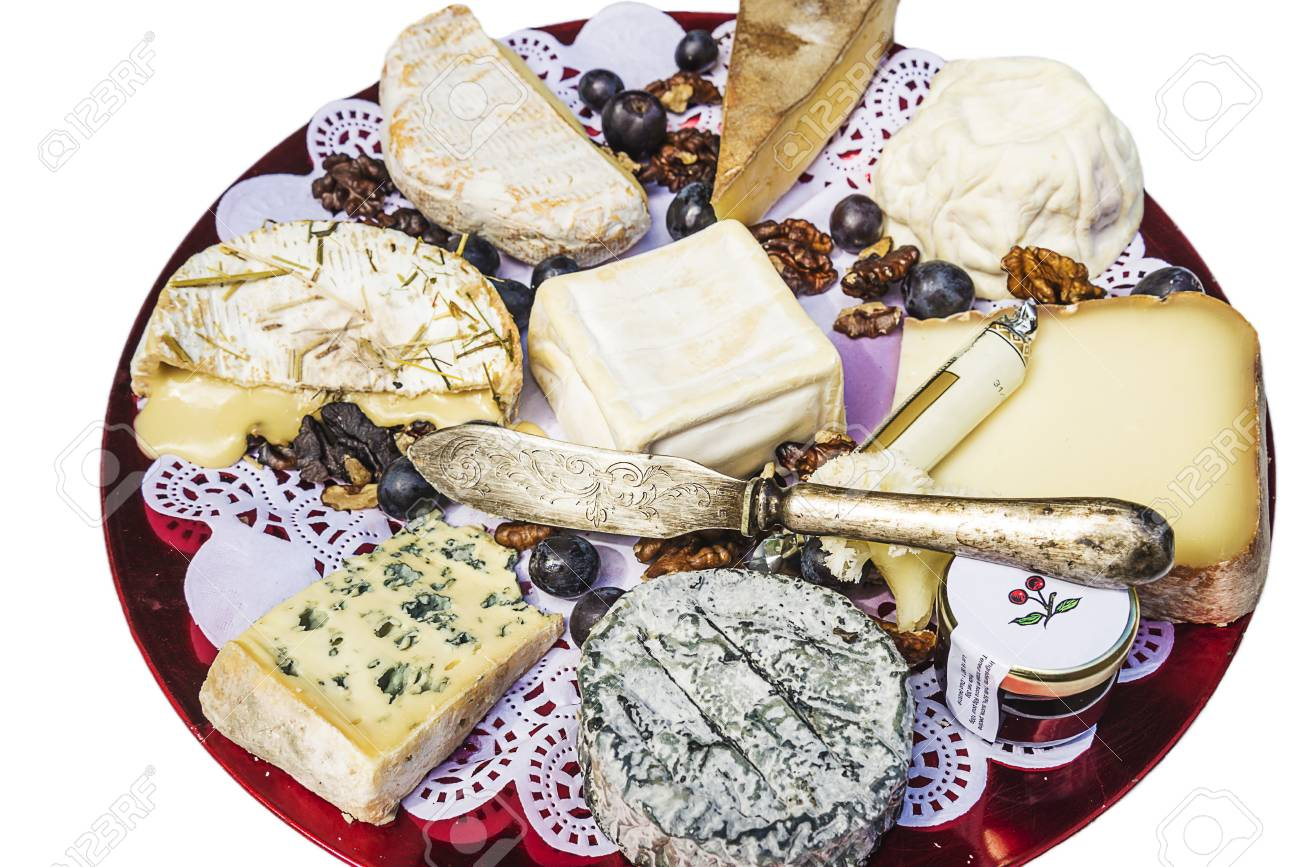 french cheese plate Stock Photo - 72610095  sc 1 st  123RF.com & French Cheese Plate Stock Photo Picture And Royalty Free Image ...