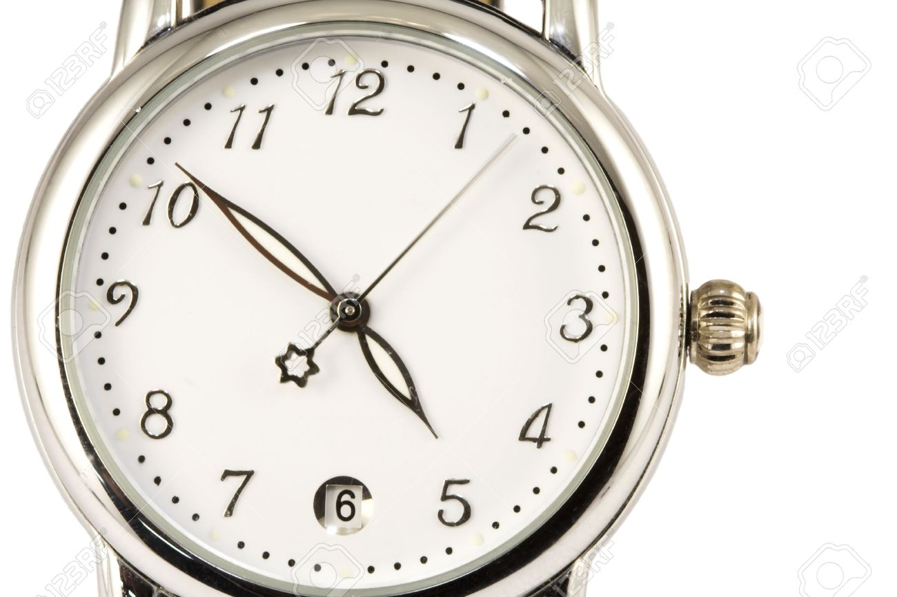 Second Hand Watches >> Watch Close Up With Moving Second Hand