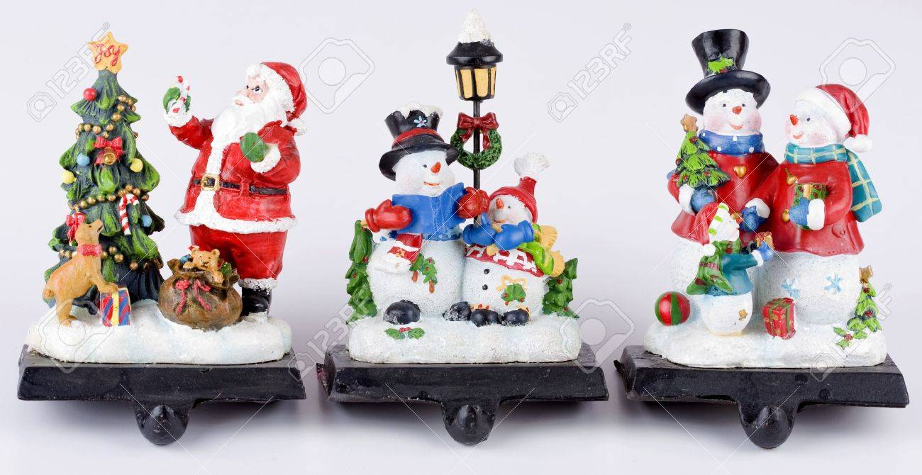 beautiful three christmas stocking hangers for fireplace to hold socks  stock with christmas stocking holders. - Stocking Holders For Fireplace Mantel Show Home Design