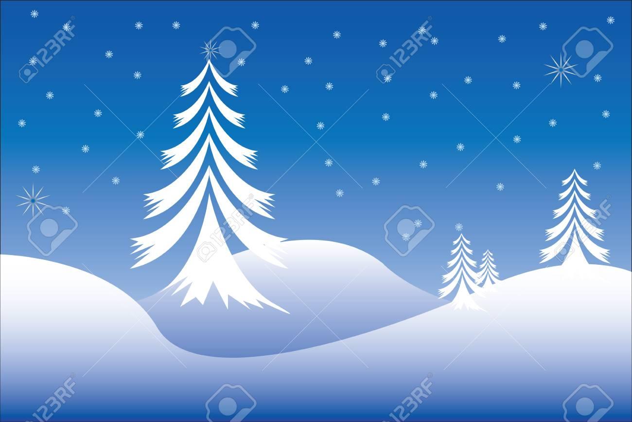 Christmas scene Stock Vector - 3543082