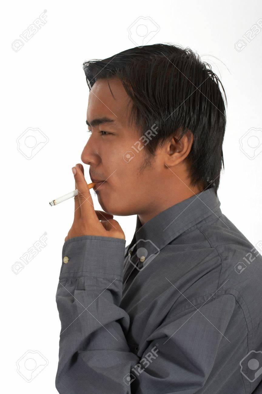 man lighting a cigarette over a white background Stock Photo - 2888232  sc 1 st  123RF Stock Photos & Man Lighting A Cigarette Over A White Background Stock Photo ... azcodes.com