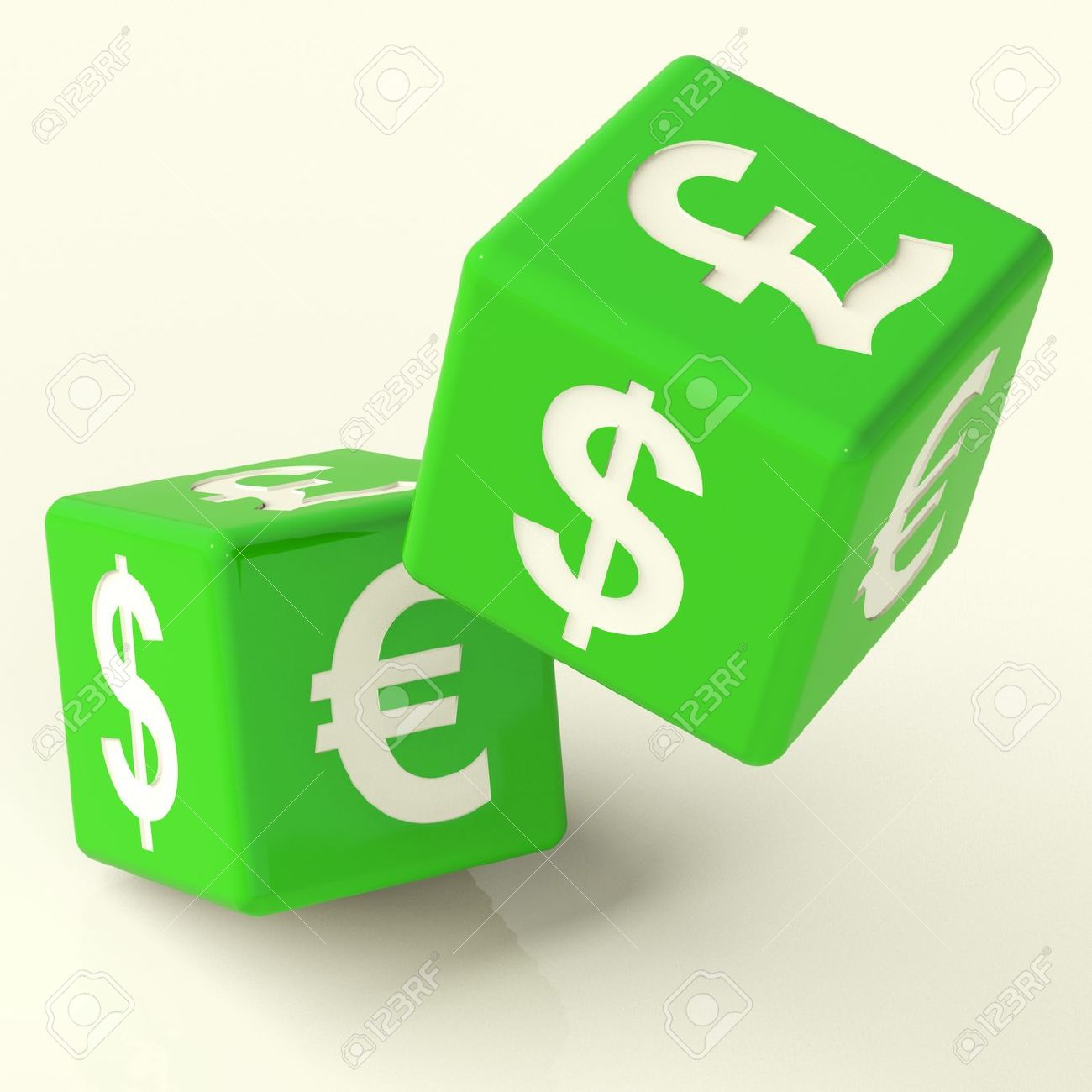 Currency signs on green dice as a symbol of foreign exchange stock currency signs on green dice as a symbol of foreign exchange stock photo 11725556 biocorpaavc Images