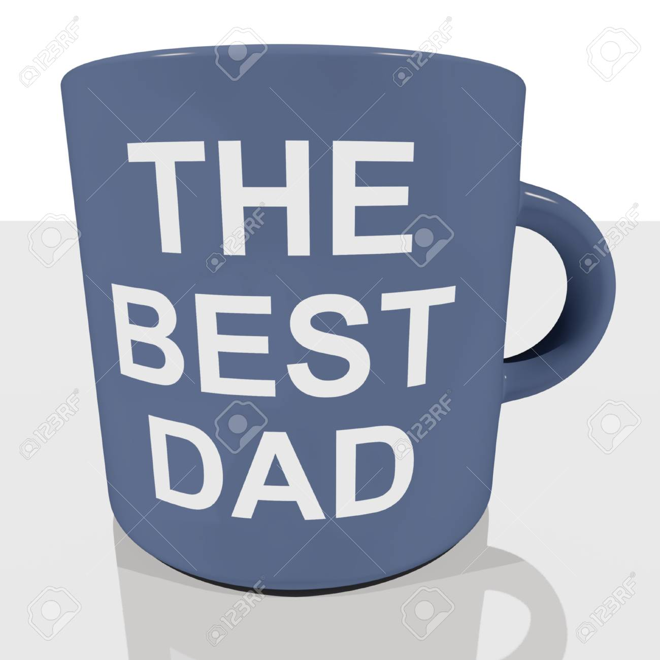 the best dad mug showing cool fathers stock photo picture and