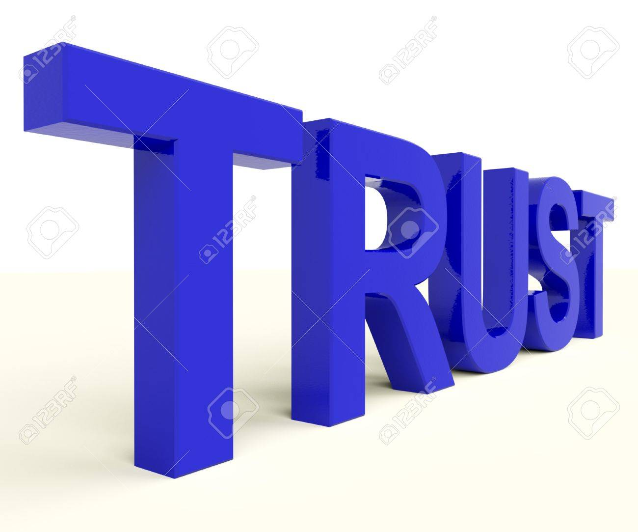 Word trust as symbol for faith and belief stock photo picture and word trust as symbol for faith and belief stock photo 12637110 biocorpaavc Choice Image