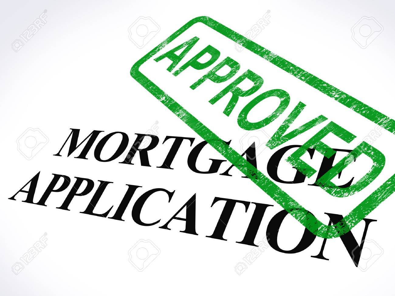 Image result for images of mortgage approval