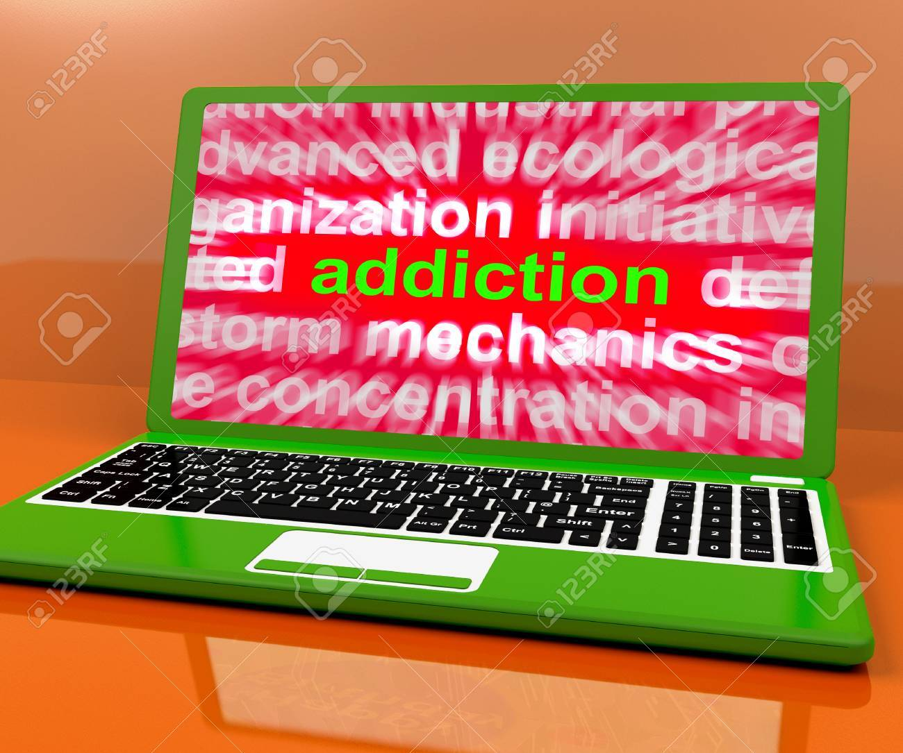 computer addiction meaning