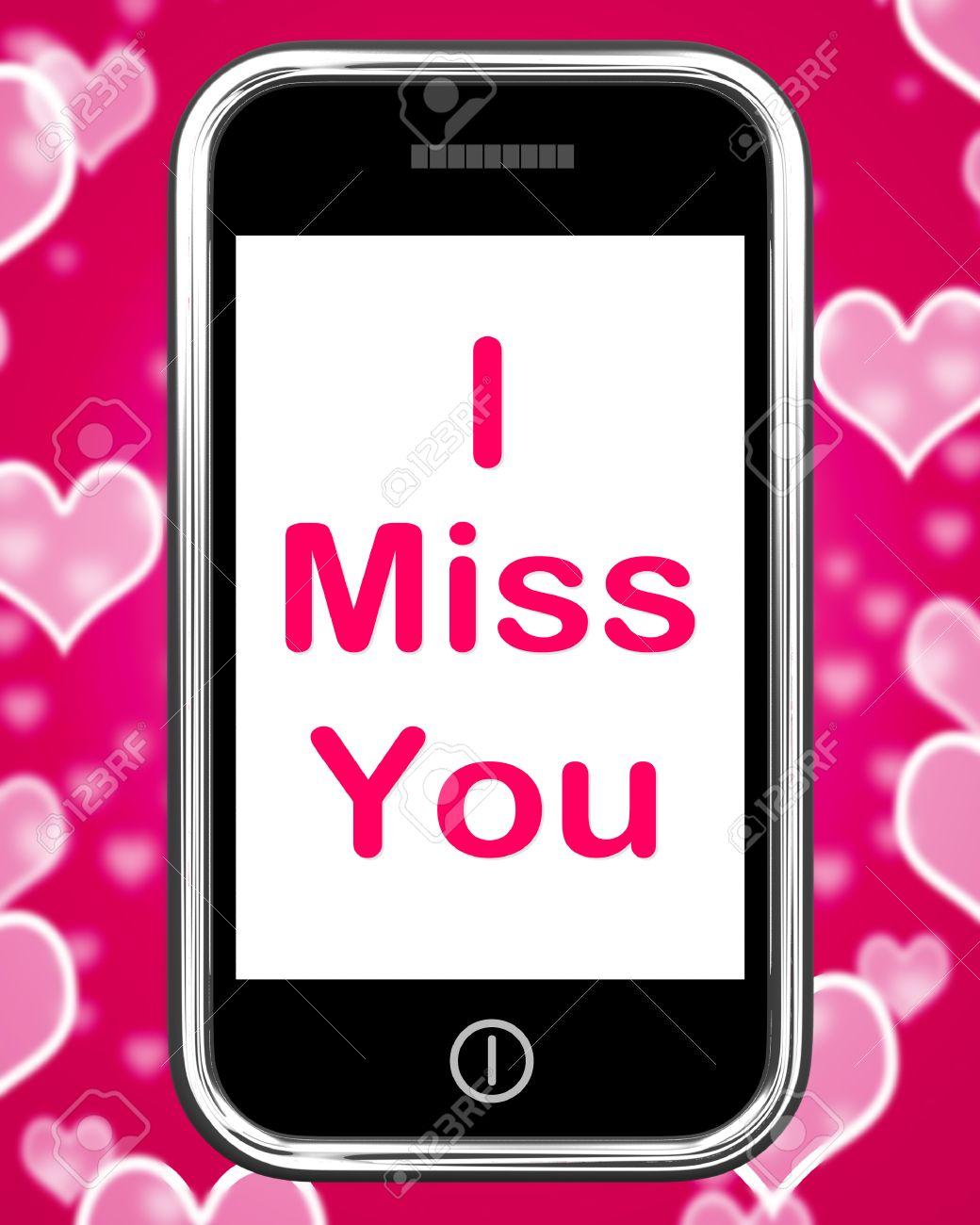 Miss you 意味 i