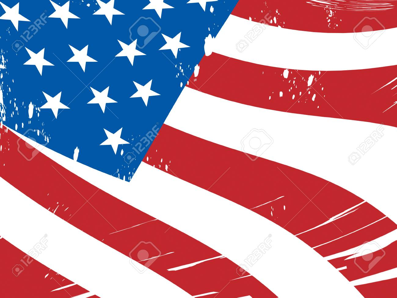 American Flag Background Meaning Freedom Government And Military