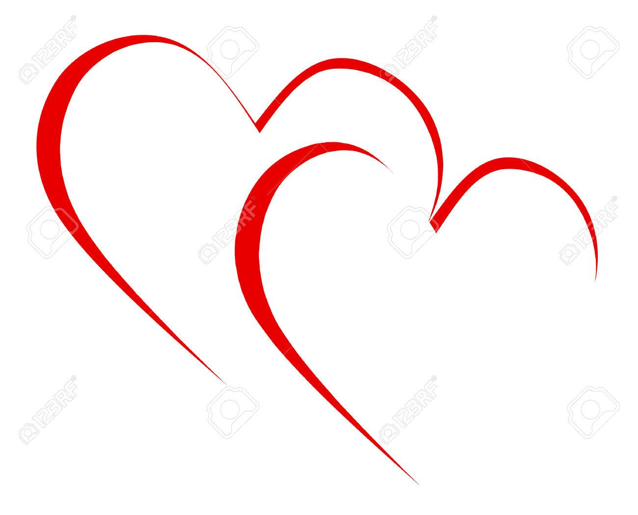 Intertwined Hearts Meaning Romanticism Togetherness And Passion