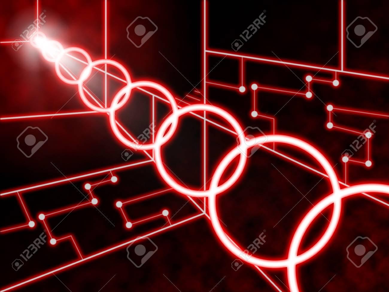 Circuito Significado : Antecedentes circuito laser significado diseño futurista o concept