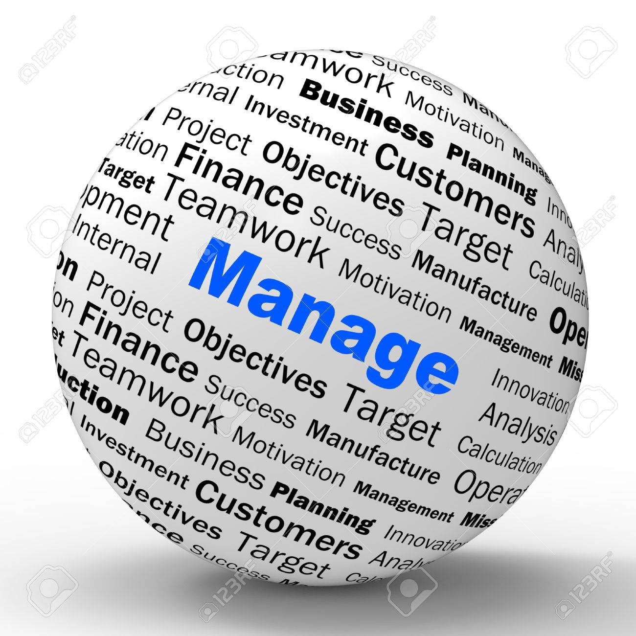 manage sphere definition meaning business administration or