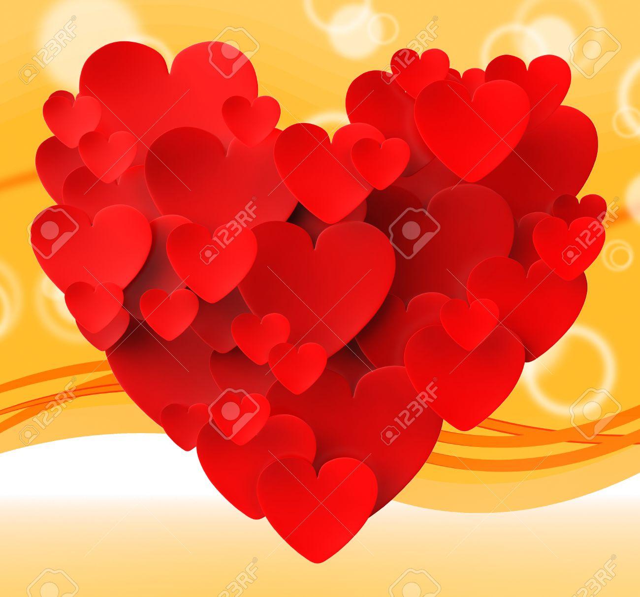 Corazón Hecho Con Los Corazones Significado Pasión Romance And Love