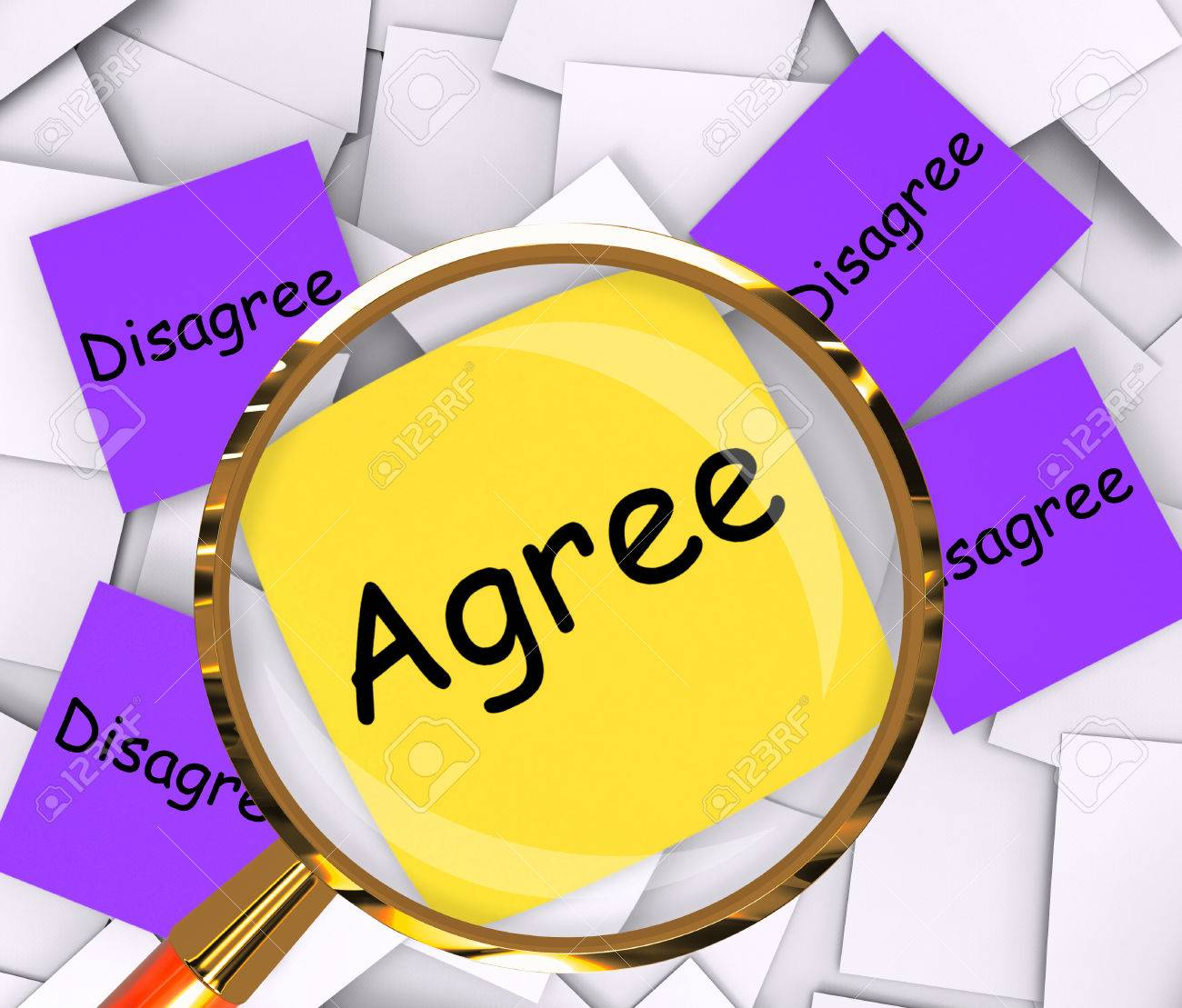 Agree disagree sticky note papers meaning opinion agreement or agree disagree sticky note papers meaning opinion agreement or disagreement stock photo 28851848 platinumwayz
