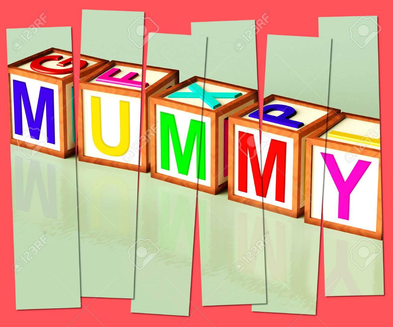 Mummy Palabra Significado Mamá Parenthood Y Niños Fotos Retratos