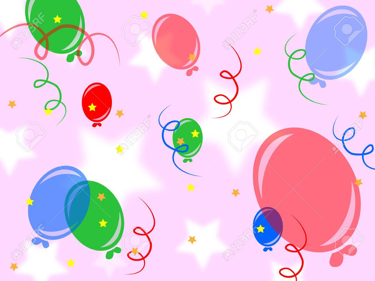 celebrate background meaning fun backgrounds and balloons stock